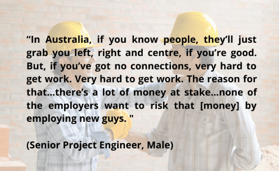 quote from male senior project engineer