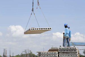 precast concrete slabs for zero energy buildings