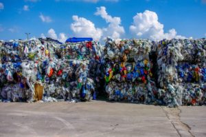 zero-emission buildings made out of recycled plastic