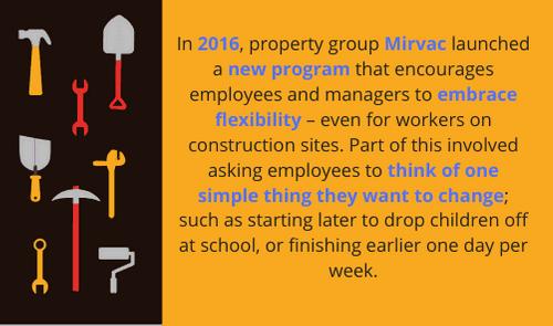 Mirvac workplace flexibility